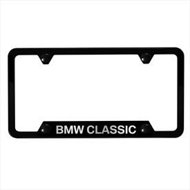 "BMW ""Classic"" Etched Frame, Black"