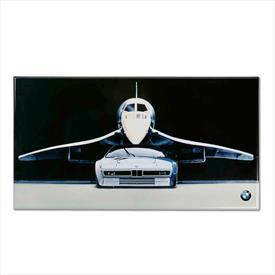 BMW SHEET METAL SIGN
