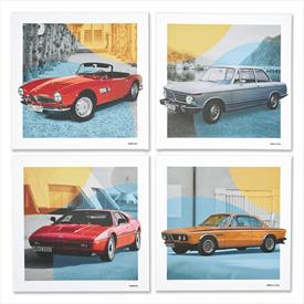 BMW Classic Canvas Art Print Set