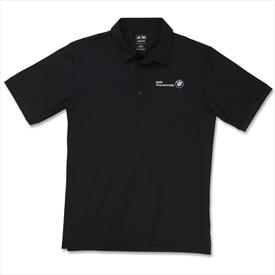 BMW Men's adidas Microstripe Polo