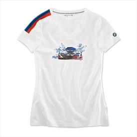 BMW Motorsport 'Motion' T-Shirt, Ladies'