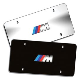 BMW M Logo Marque Plates