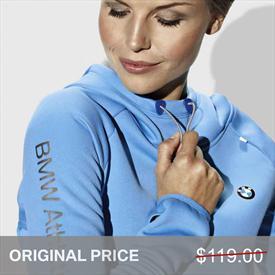 BMW Athletic Hoody, Women