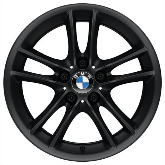 BMW Double Spoke Style 182 Individual Rims in Black