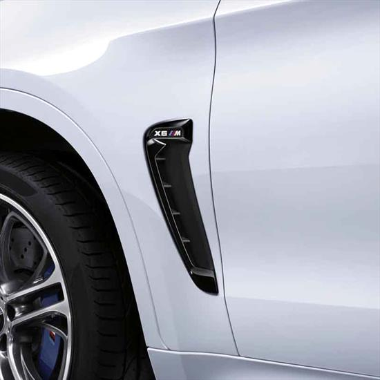 BMW M Performance High-Gloss Side Grilles