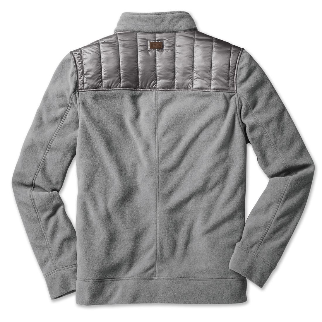 BMW Fleece Jacket Men's Grey
