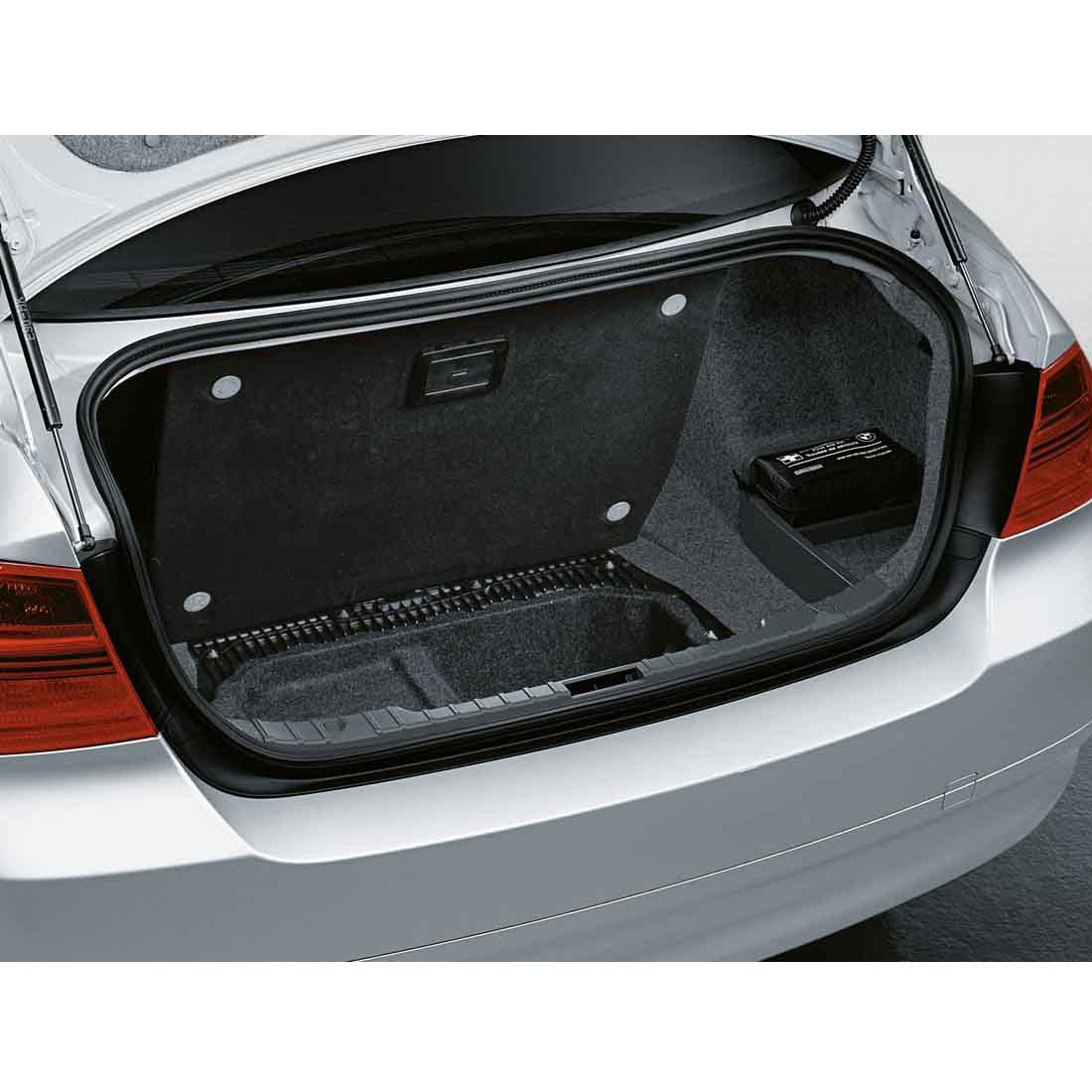 BMW Segmented Storage Compartment