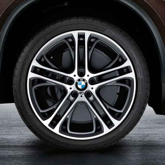 """BMW Double Spoke 310M 21"""" Wheels and Tires - Complete Set"""
