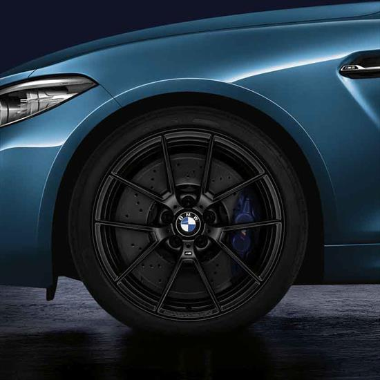 BMW M Performance Style 763M Summer Complete Wheel & Tire Set - Matte Black