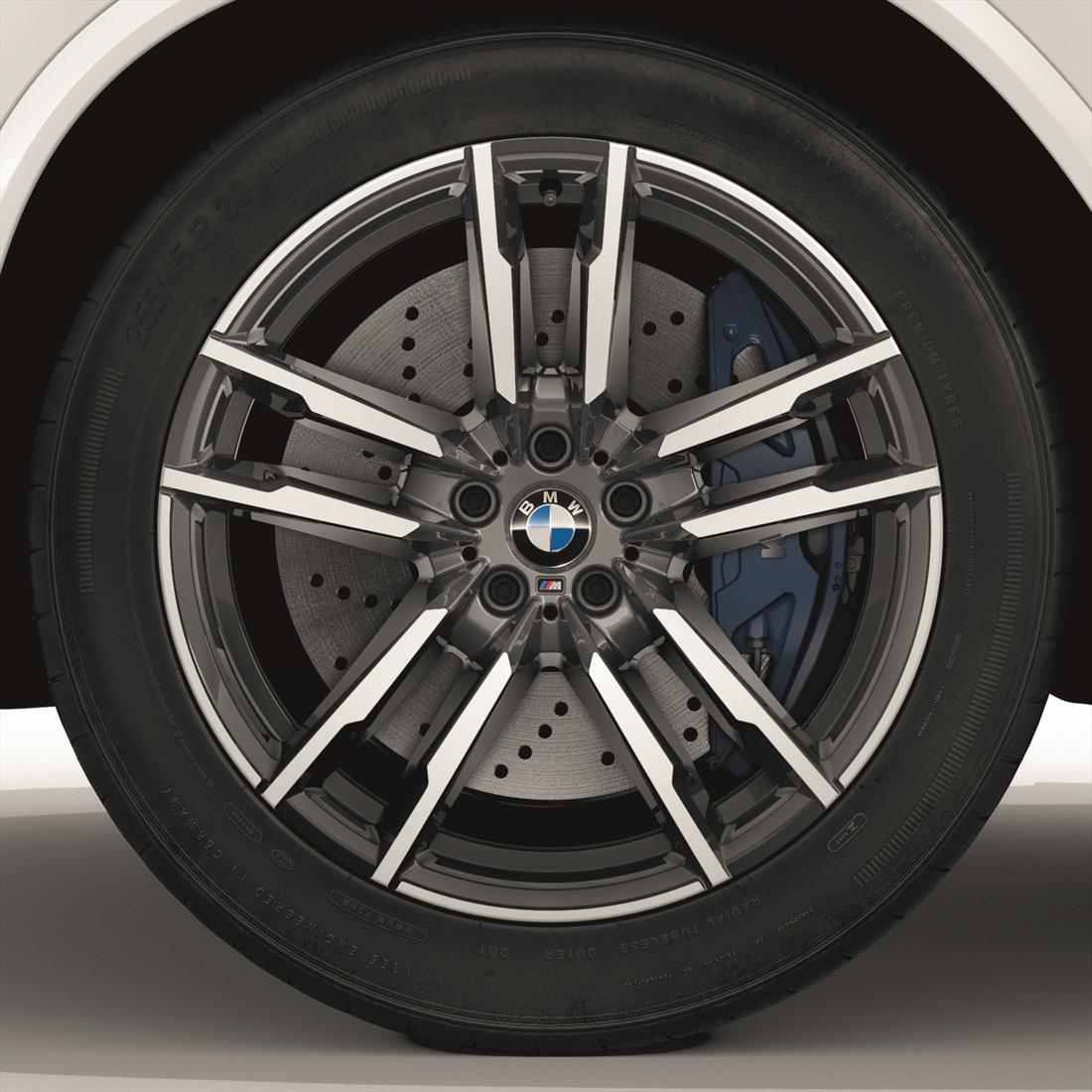 "BMW 20"" Style 611M Cold Weather Complete Wheel and Tire Set"