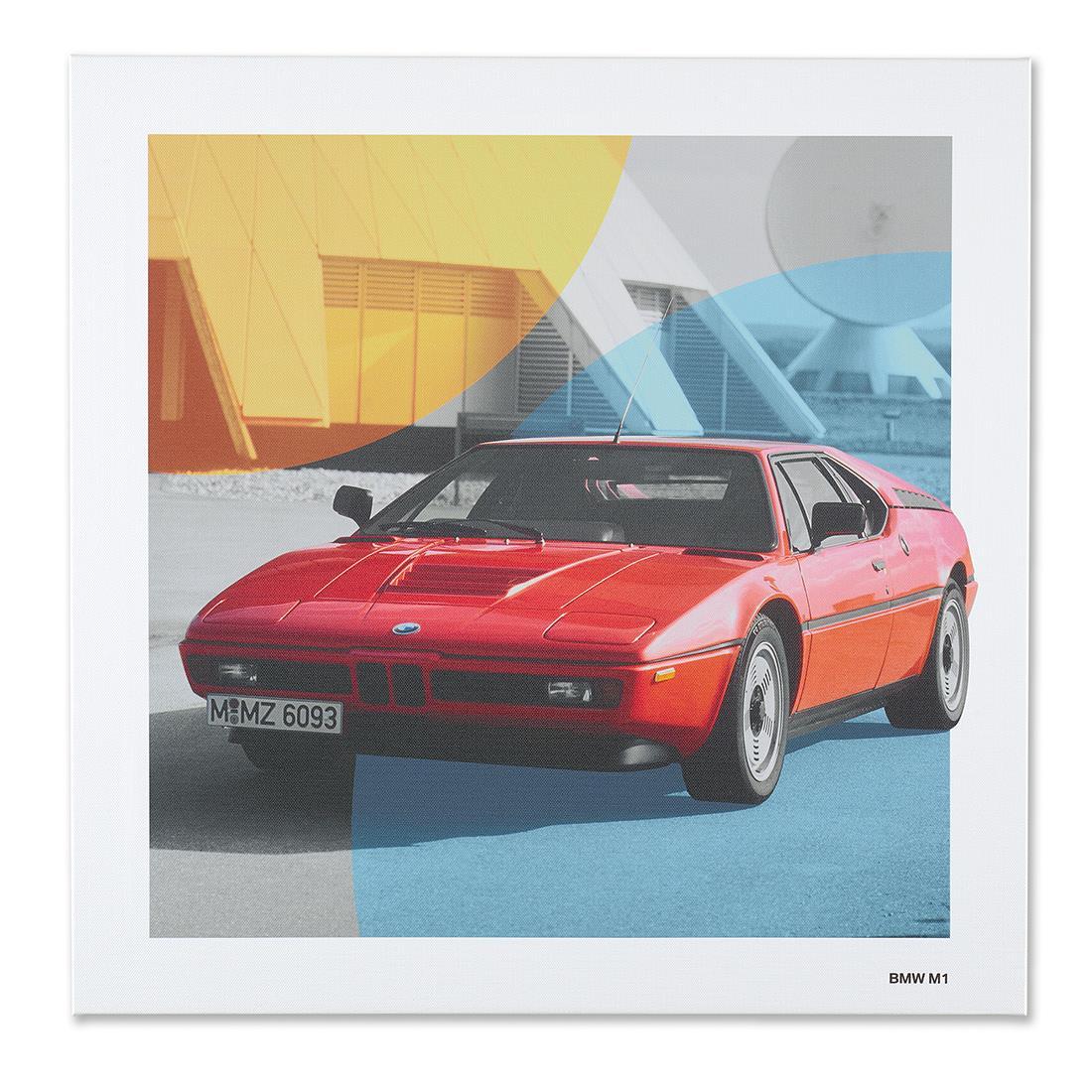 BMW Classic Canvas Art Print BMW M1