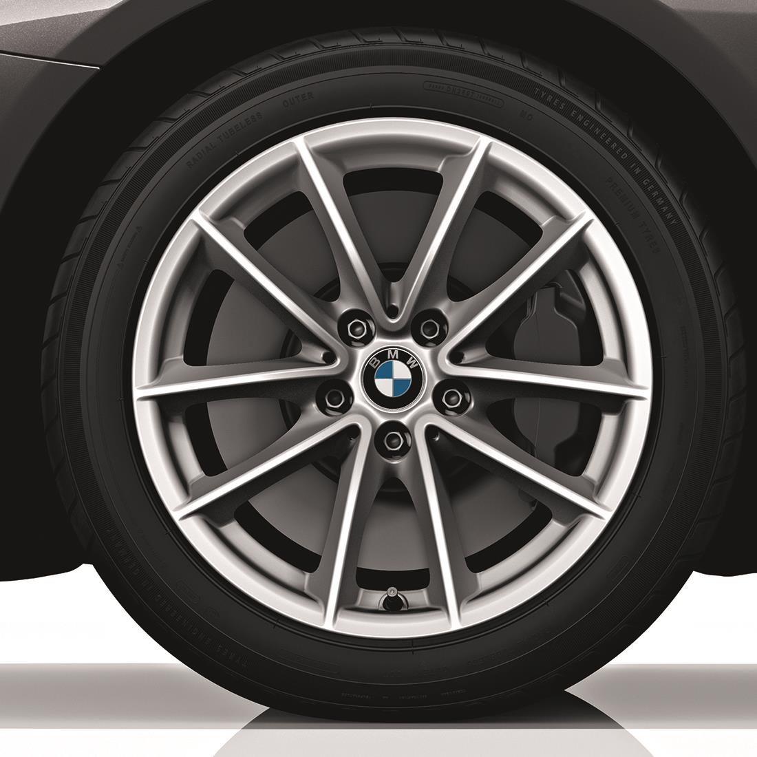BMW Winter Complete Wheel & Tire Set, Style 618, in Silver