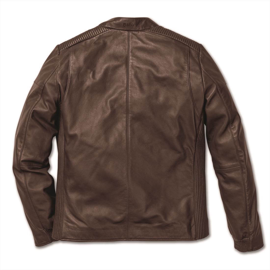 BMW X Leather Jacket Men Brown