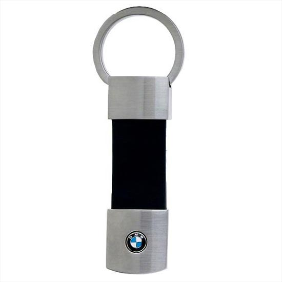 BMW Leather Pull Key Ring