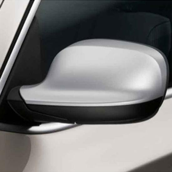 BMW Matte Silver Mirror Cap Set