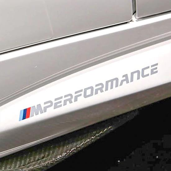BMW M Performance Side Decals