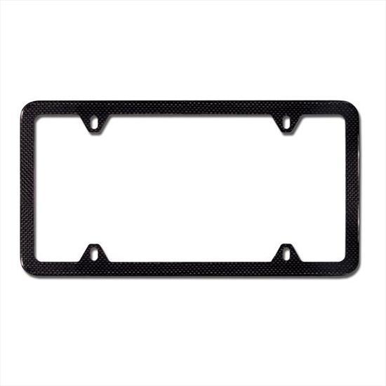 BMW Carbon Fiber Slim Line License Plate Frame
