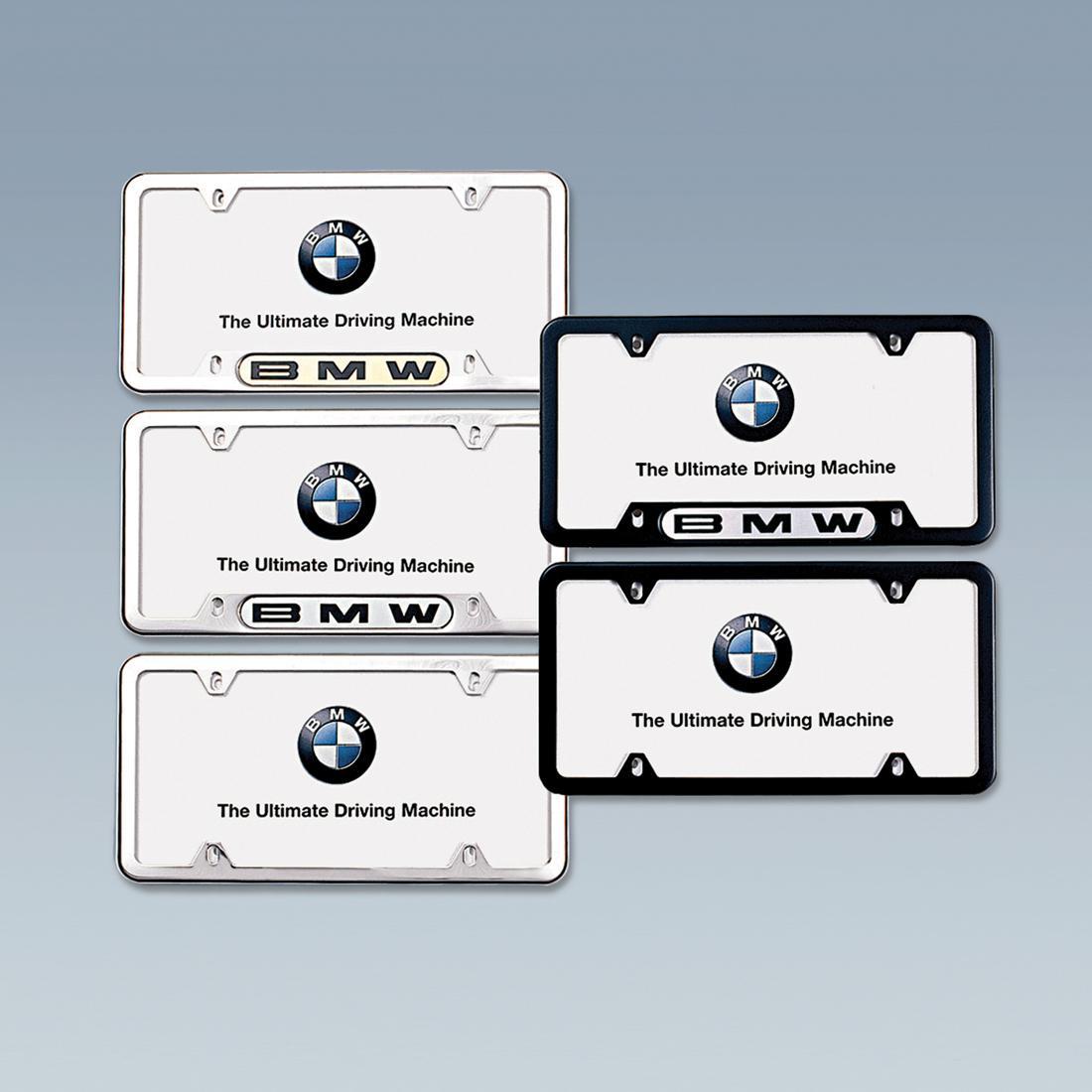 BMW License Plate Frames