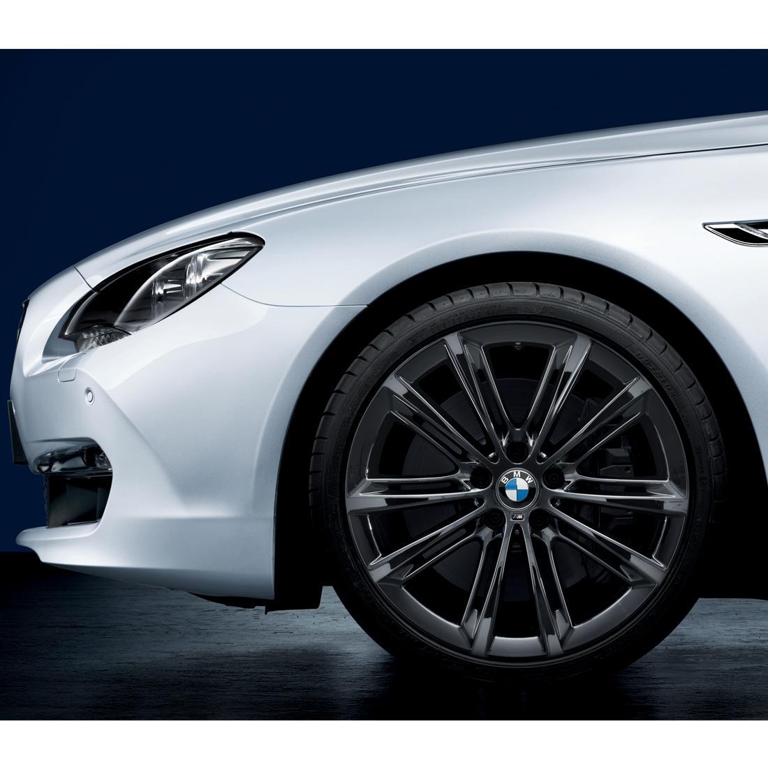 "BMW M Performance Liquid Black V-Spoke 464M, 20"" Wheels with Tires - Complete Set"