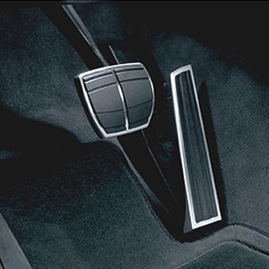BMW Stainless Steel Pedal Pads