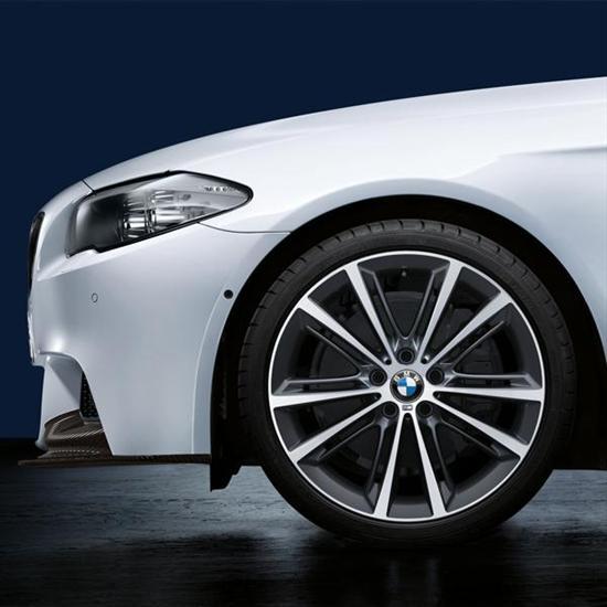 "BMW M Performance V-Spoke 464M, 20"" Wheels with Tires - Complete Set"