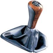 BMW Leather/Wood Gear Shift Knob