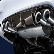 Rear Diffuser, Carbon