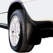 BMW Mud Flaps for Off-Road with Running Board