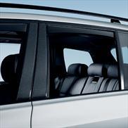 BMW Carbon Fiber-Look Door Pillar Accents for X3