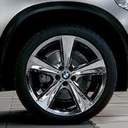 BMW Star Spoke 128 Chrome-Plated