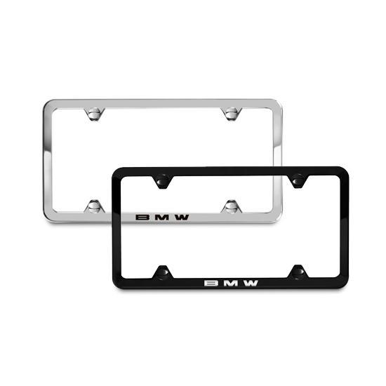 Shopbmwusa Com Bmw Laser Slimline License Plate Frames