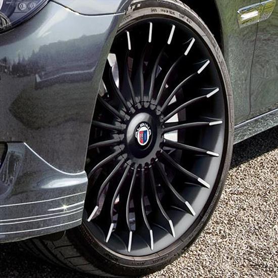 ShopBMWUSA.com: BMW ALPINA BLACK 21 INCH INDIVIDUAL RIMS