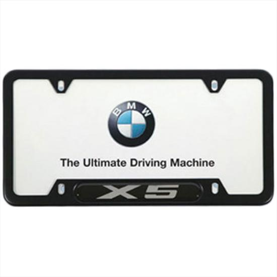 details about bmw black license plate frame with chrome x5 emblem. Cars Review. Best American Auto & Cars Review
