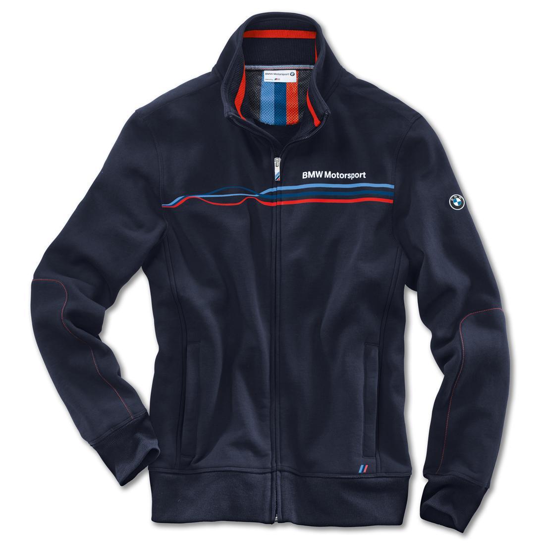 bmw motorsport men 39 s sweat jacket. Black Bedroom Furniture Sets. Home Design Ideas